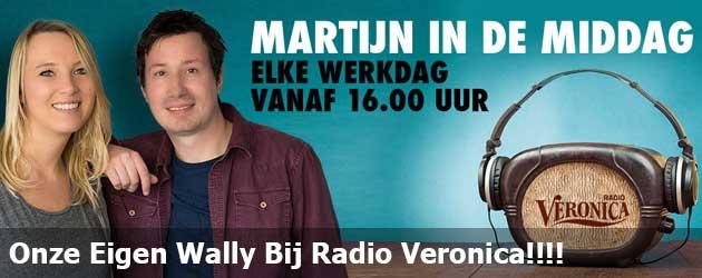 Onze Eigen Wally Bij Radio Veronica!!!!
