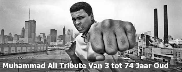 Een Muhammad Ali Tribute Van 3 tot 74 Jaar Oud