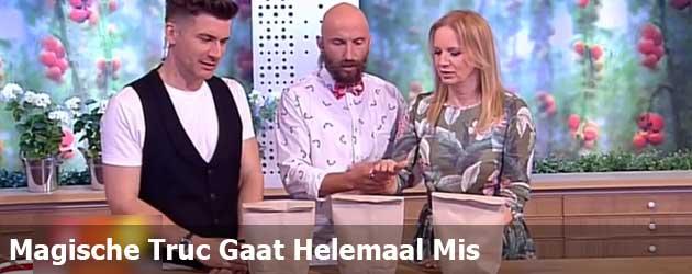 Magische Truc Gaat Helemaal Mis Live Op De Poolse TV