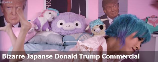 Bizarre Japanse Donald Trump Commercial