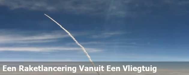 Een Raketlancering Vanuit Een Vliegtuig