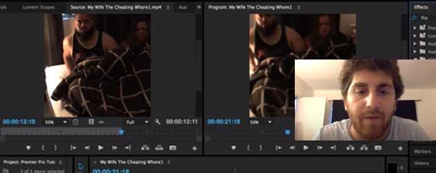 Adobe Premiere Tutorial Gaat Eigenlijk Over Het Vreemdgaan Van Zijn Vriendin