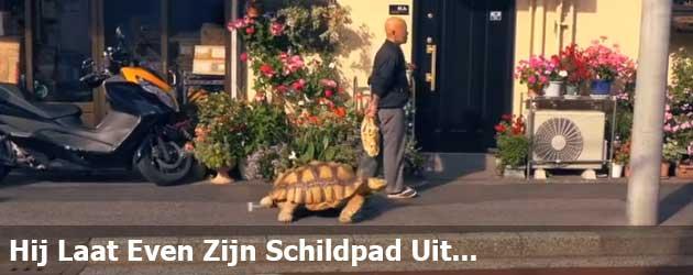 Hij Laat Even Zijn Schildpad Uit En Dat Duurt Lang Man...