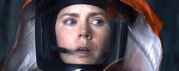 Trailer Sci-Fi Arrival Met Amy Adams