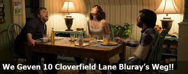 We Geven 10 Cloverfield Lane Bluray's Weg!!