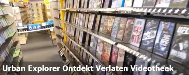 Urban Explorer ontdekt oude verlaten Videotheek