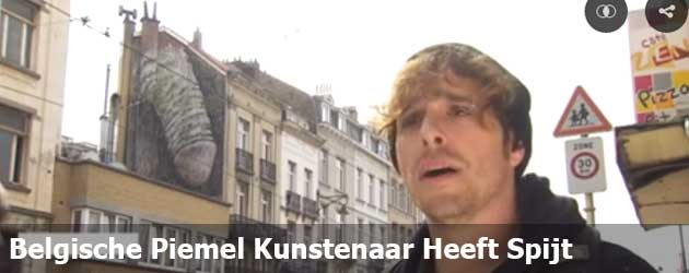Belgische Piemel Kunstenaar Heeft Spijt