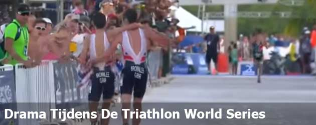Drama Tijdens De Triathlon World Series