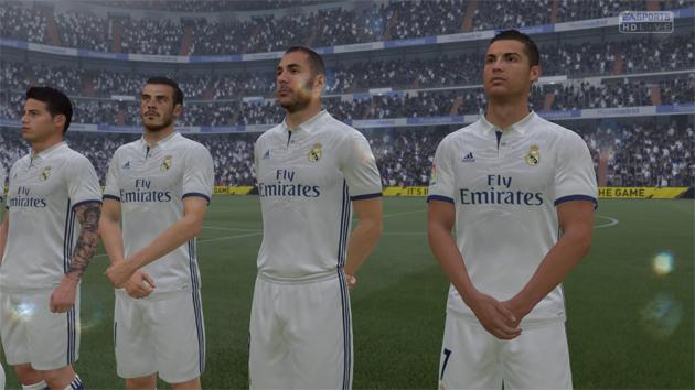 FIFA 17 Aftrap 0-0 RMA - FCB, 1e helft