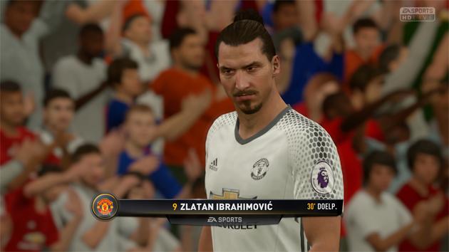 FIFA 17 Aftrap 1-0 MUN - BAR, 1e helft