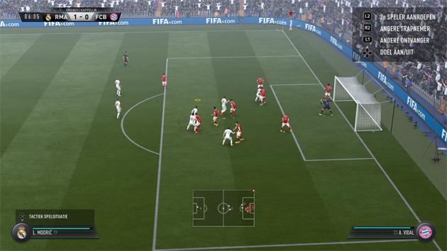 FIFA 17 Aftrap 1-0 RMA - FCB, 1e helft