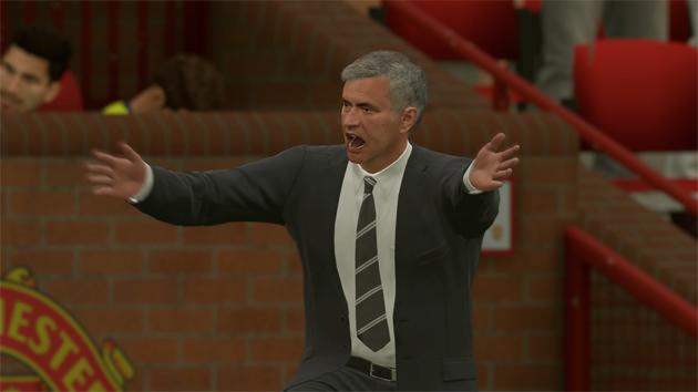 FIFA 17 Aftrap 2-0 MUN - BAR, 1e helft