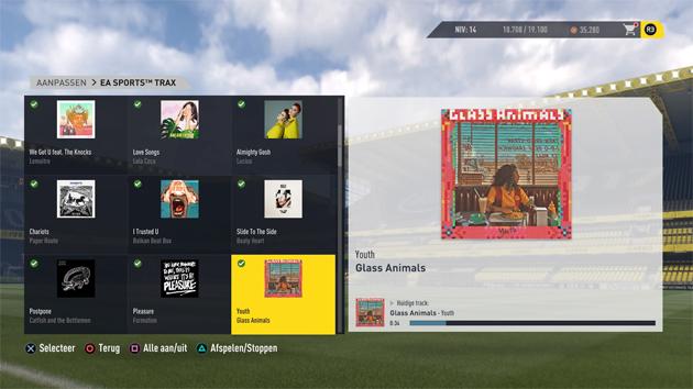 FIFA 17 (In menu's)