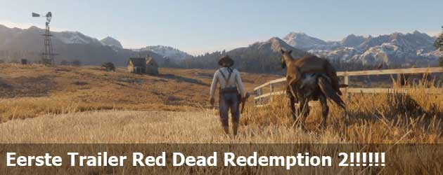 Eerste Trailer Red Dead Redemption 2!!!!!!
