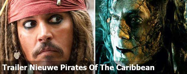 Bekijk nu de gloednieuwe trailer van Pirates of the Caribbean: Dead Men Tell No Tales