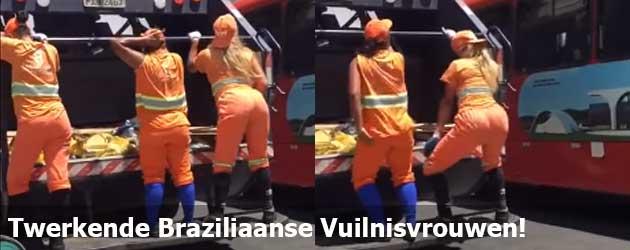 Twerkende Braziliaanse Vuilnisvrouwen!
