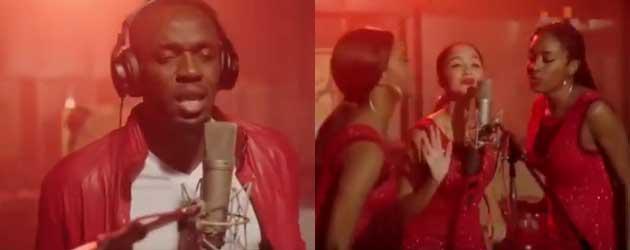 Eindelijk! De Kerst Singel Van Usain Bolt Is Daar!