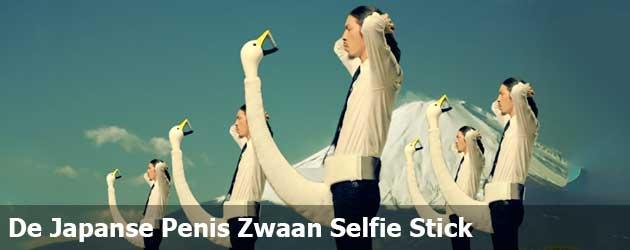 De Japanse Penis Zwaan Selfie Stick