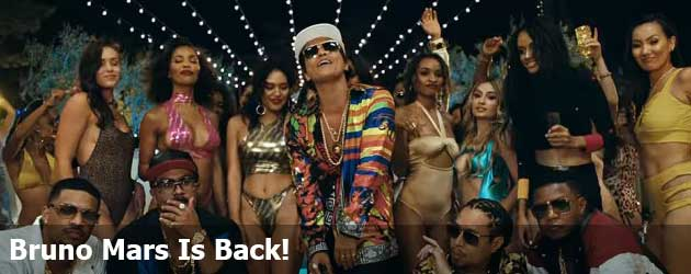 Bruno Mars Is Back!