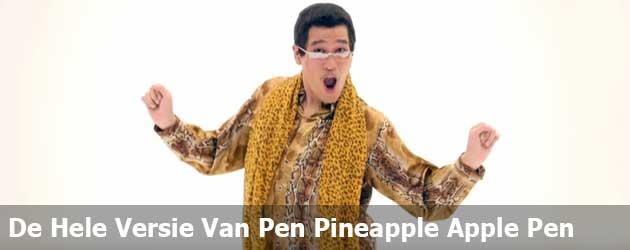 Eindelijk! De Volledige Versie Van Pen Pineapple Apple Pen staat online!!!
