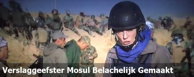 Verslaggeefster Mosul Belachelijk Gemaakt