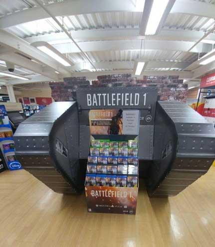 Zo verkopen ze Battlefield 1 in de UK