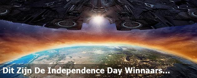 Dit Zijn De Independence Day Winnaars...