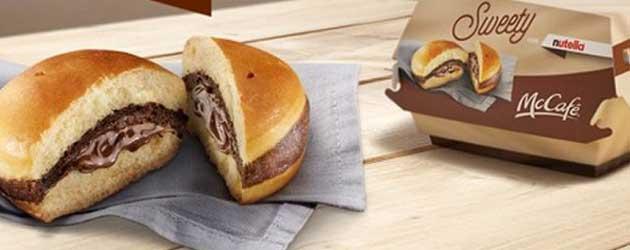 Heb jij de McDonald's Nutella Burger al geproefd?