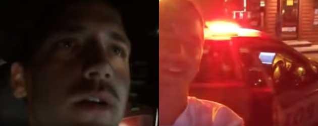 Man Steelt Politieauto en streamt alles live op Facebook