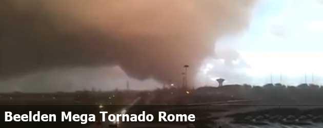 Beelden Mega Tornado Rome