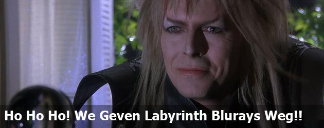 Ho Ho Ho! We Geven Labyrinth Blurays Weg!!