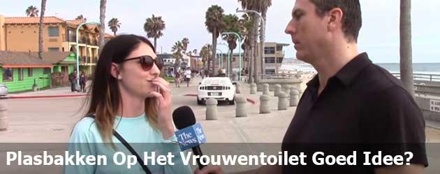 Plasbakken In De Vrouwen Toilet Een Goed Idee?