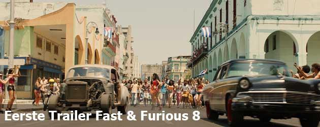 Eerste Trailer Fast & Furious 8