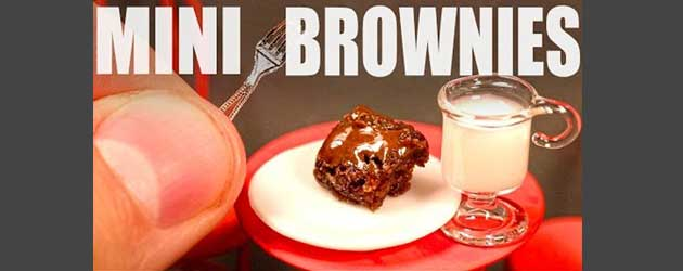 En Dan Nu! Mini Brownies!