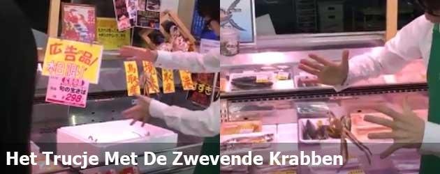 Het Trucje Met De Zwevende Krabben