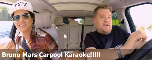 Bruno Mars Carpool Karaoke!!!!!