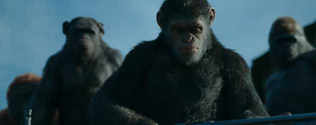 Eerste Trailer: War For The Planet Of The Apes