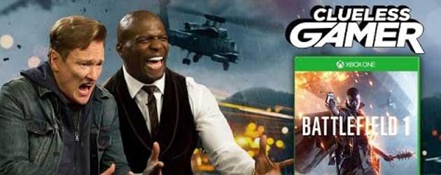 Conan De Clueless Gamer Doet Battlefield 1