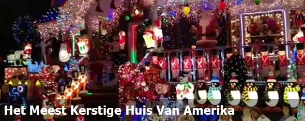 Het Meest kerstige Huis Van Amerika Staat In New York