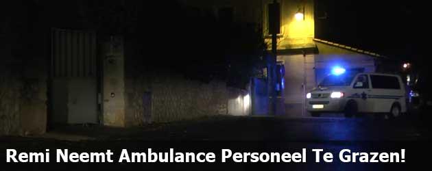 Remi Gaillard Neemt Ambulance Personeel Te Grazen!