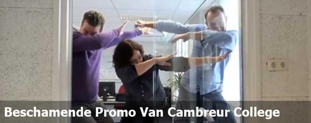 Het Cambreur College Maakt Een Tenenkrommend Promotie filmpje
