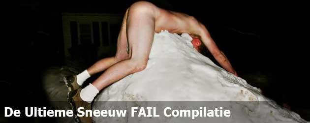 De Ultieme Sneeuw FAIL Compilatie
