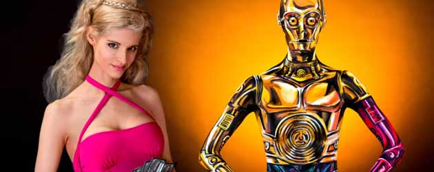 Epic Star Wars C-3PO Body Paint