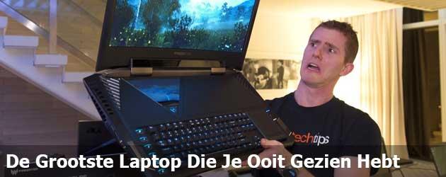 Dit Is De Grootste Laptop Die Je Ooit Gezien Hebt