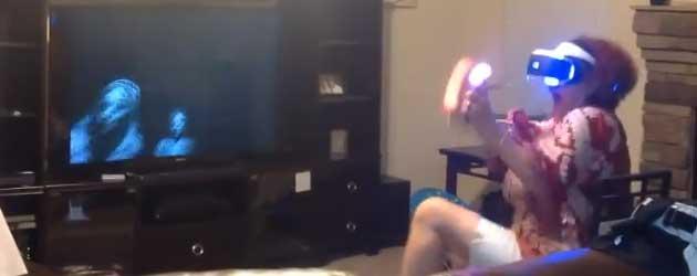 De Playstation VR is Veel te Intens Voor Oma