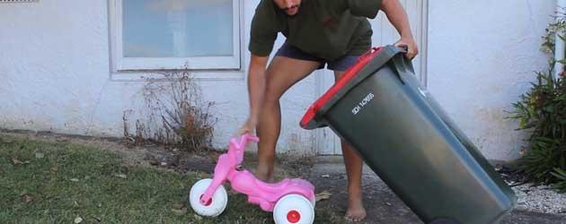 Hoe je heel makkelijk een Go-Kart maakt voor je kind