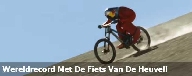 Nieuw Wereldrecord Met De Fiets Van De Heuvel!