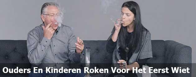 Ouders En Kinderen Roken Voor Het Eerst Wiet
