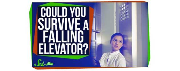 Overleef Je Een Val In Een Vallende Lift?
