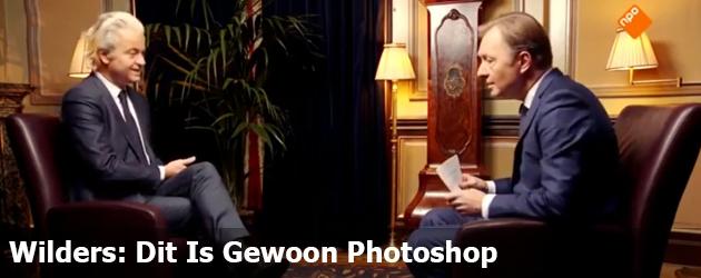 Wilders: Dit Is Gewoon Photoshop